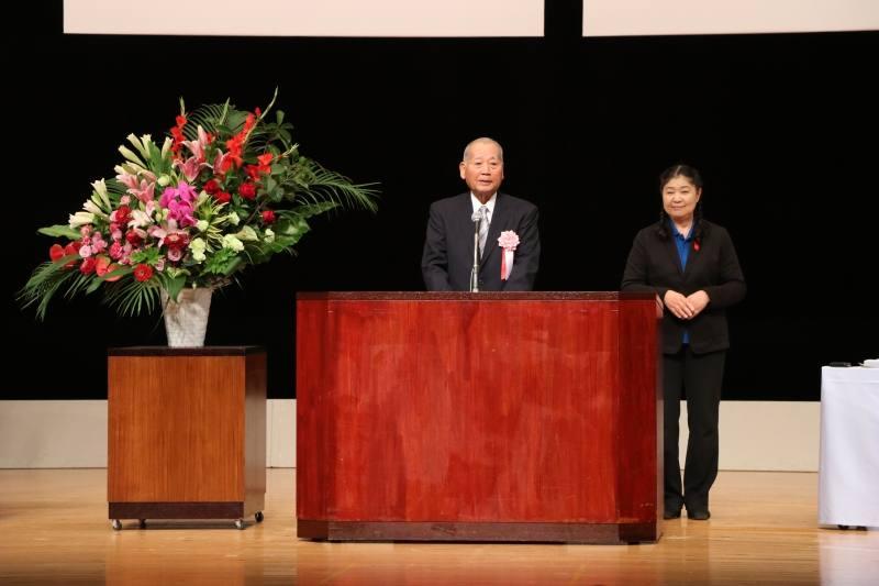 田口前市長の写真