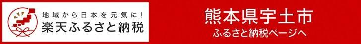 楽天市場 熊本県宇土市の楽天ふるさと納税サイトのリンク画像