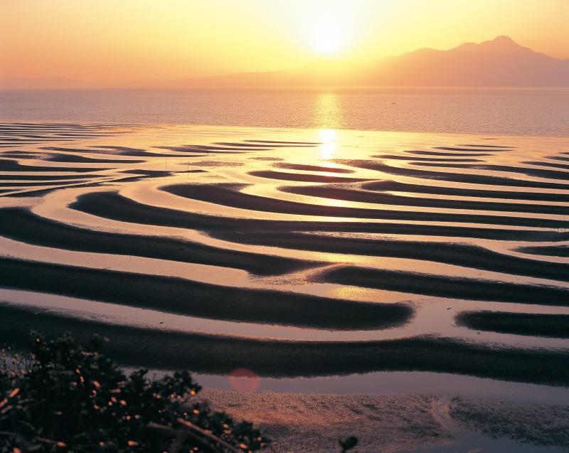 起こし器海岸の写真