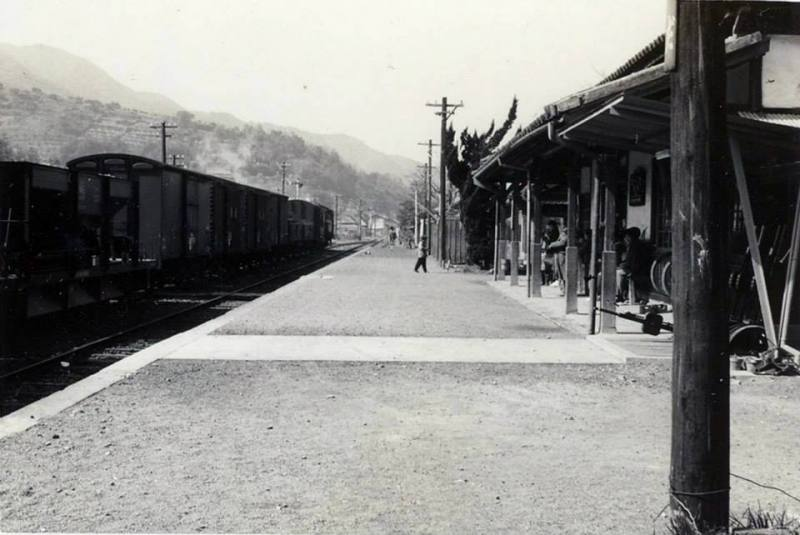 以前の網田駅の写真です