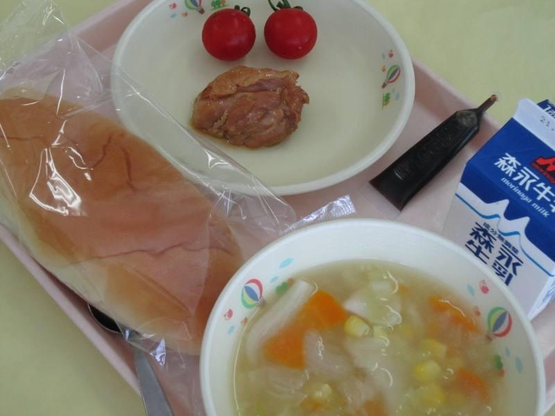 令和3年9月7日火曜日B献立の給食写真