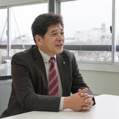 元松市長の写真