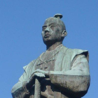 小西行長の像の画像