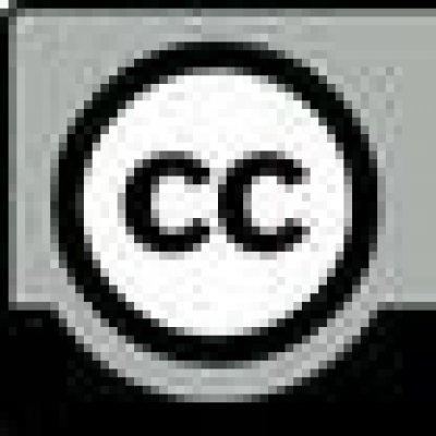 著作物にCCライセンスが付けられていることを示す目印の画像